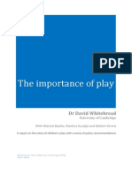 Dr David Whitebread - The Importance of Play