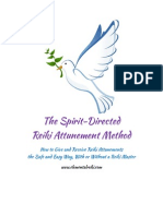 The Spirit Directed Reiki Attunement Method