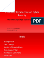 amilitaryperspectiveoncybersecurity-101004201823-phpapp01
