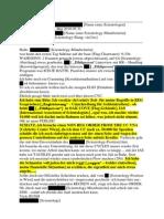 Scientology Österreich - Mailverkehr Non-Reg-Order
