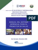 Manual Sistema Gerencial Promotor Salud