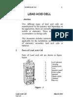 Handbook on Lead Acid Cell for Railway signaling