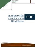 Elaboración de Salchicha