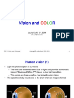 Introduction to Color and Vision