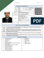 Dr Nader Ale Ebrahim Résumé