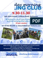 Saturday Cycling Club Peterborough
