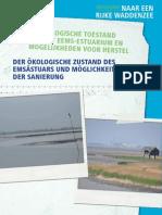 Ecologische toestand van Eems Dollard estuarium en mogelijkheden voor herstel