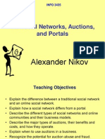 12 EC Social Networks Auctions Portals