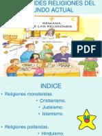 Las Grandes Religiones Del Mundo Actual