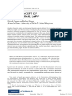 Kant Concept of International Law