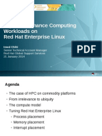 Running High Performance Computing Workloads on Red Hat Enterprise Linux