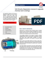 Multi Gravity Separation Systems 20111