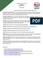 Vocabulario - PyE (2)
