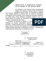 Modelul Lui Michael Porter de Diagnosticare Strategica a Domeniului de Activitate in Care Opereaza Firma - Copy