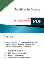 Protien Mutation& Cystic Fibrosis