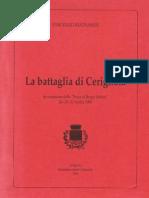 Buonassisi Battaglia Di Cerignola Bq STAMPATO