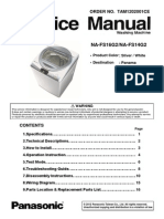 NA-FS16G2-14G2 Panasonic Washing Machine Service Manual