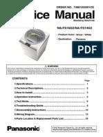 NA-FS16G2-14G2 Panasonic Washing Machine Service Manual