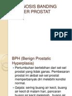 Diagnosis Banding Kanker Prostat