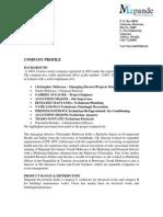 Company Profile - Mapande.doc All Fields 1 Doc