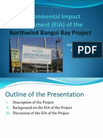 EIA of Northwind Bangui Bay Project