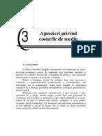 Capitolul 3 Aprecieri Privind Costurile de Mediu