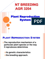 Plant Reproduction System