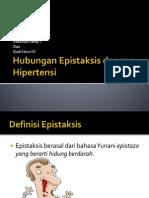 hubungan Epistaksis dengan hipertensi