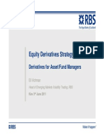 RBS Equity Derivatives Strategy