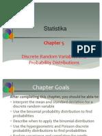 5.Discrete RV and Prob Distr