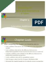 9.Estimation Additional Topics