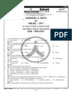 (Www.entrance-exam.net)-West Bengal Joint Entrance Exam- Biology Sample Paper 1 (1)