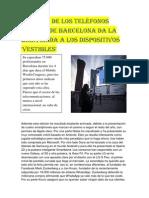 221739413 La Feria de Los Telefonos Moviles de Barcelona Da La Bienvenida a Los Dispositivos