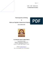Field Inspection of Drilling and Work Over Rig Mast Substructure and Rig Equipment