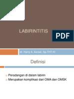 Labirintitis Dan Otosklerosis