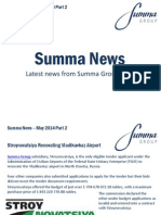 Summa Group News Part 2 of May 2014.