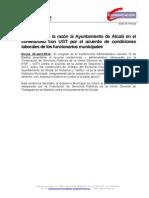 N.P PORTAVOCÍA Sentencia UGT Condiciones Laborales (Abr2014)