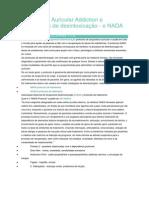 Acupuntura Auricular - Protocolo de Desintoxicação