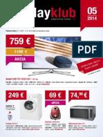 Leták PlayKlub 5/2014