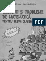 CULEGERE MATEMATICA - CALUGARITA