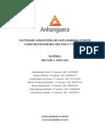 ATPS - Mecânica aplicada2