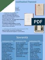 Le Tre Costituzioni Francesi