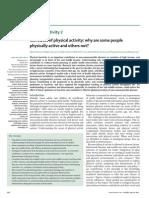 Atividade Física e Fatores Associados