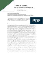 Jara, Juan Manuel Ugarte Precursor