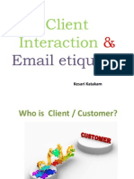 Client Interaction