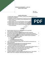 Class 10 Cbse Science Sample Paper Term 2 2012-13 Model 1