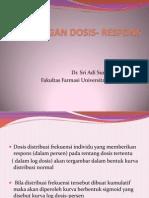 Hubungan Dosis- Respons