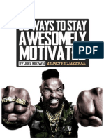 50 Ways to Stay Awesomely Motivated