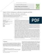 Impact of Forest Management Schemes In Argentina and Chile