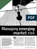 Managing Emerging Market Risk